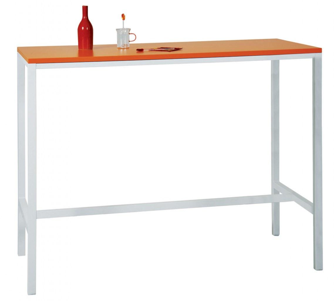 Table haute rectangle oki bureaux pour tous for Mobilier table haute