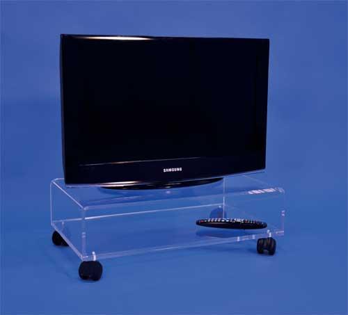 table tv sur roulettes bureaux pour tous. Black Bedroom Furniture Sets. Home Design Ideas