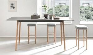 Table Haute Bois Nucleo