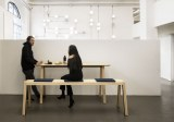 Table et Banc E-QUO 3 Assises Rembourrées