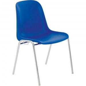 Chaise coque empilable, polypropylène