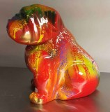 BOULEDOGUE ASSIS 40 CM COULURES MULTICOLORES