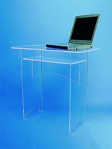 Petit bureau plexiglass