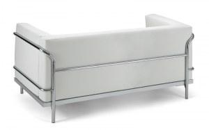 Canapé Cuir Silver 2 Places