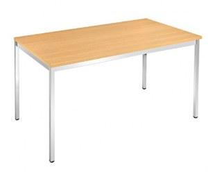 Table 4 Pieds Chromés 120 x 60